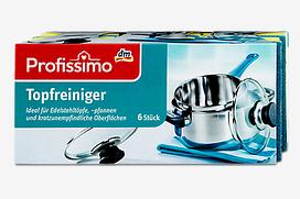 Denkmit Profissimo губки для мытья посуды ( 6 шт в упаковке)