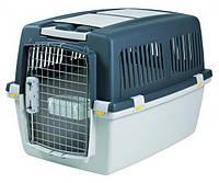 Trixie (Трикси) GULLIVER IATA №4, 52х51х72см, до 18кг - переноска для собак (серый)