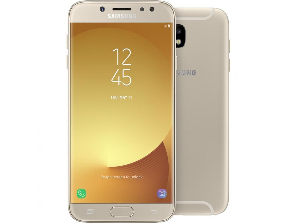 """Смартфон Samsung J530F Galaxy J5 2017 (SM-J530FZDN) Gold , 2/16Gb, 8 ядер, 13/13Мп, 5.2"""", 2 sim, 4G, 3000mAh."""