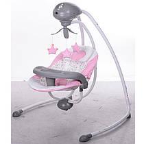 Електричне крісло-гойдалка (рожевий), SG301-8