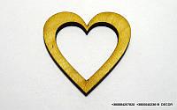 Сердце мини сплошное