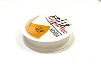 Моно нить, Леска, Резинка, Полупрозрачная, Эластичная, 0,6 мм