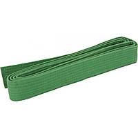 Пояс для кимоно 280 см зеленый