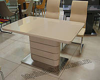 "Кухонный стол ""SM-25-1"" бежевый"