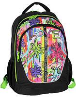 Рюкзак городской с принтом Paso 21л. BDC-367 (жіночий рюкзак, портфель, школьные рюкзаки, рюкзак женский)
