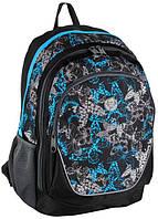 Рюкзак городской с принтом Paso 21л. 16-367B (жіночий рюкзак, портфель, школьные рюкзаки, рюкзак женский)