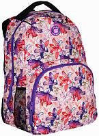 Рюкзак городской оранжевый Paso 21л. 16-1838E (жіночий рюкзак, портфель, школьные рюкзаки, рюкзак женский)
