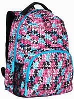 Рюкзак городской с принтом Paso 21л. 16-1838A (мужской рюкзак, портфель, школьные рюкзаки, рюкзак женский)