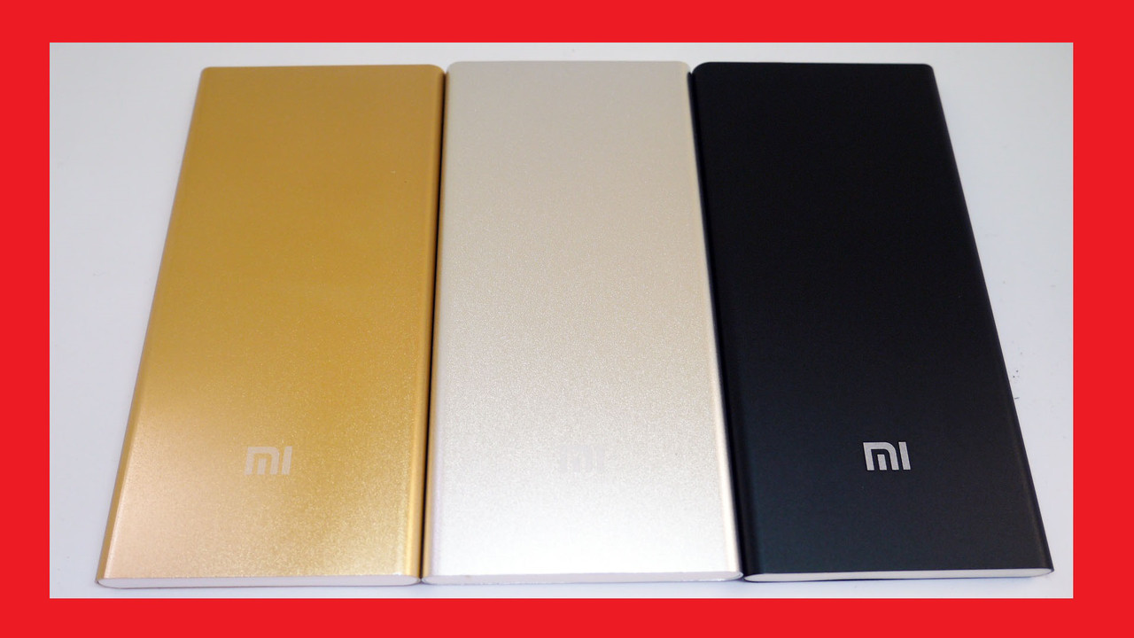 Power Bank Xiaomi Mi 24000 mAh USB + Металл