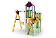 Детский игровой комплекс Праздник, высота горки 1,5м
