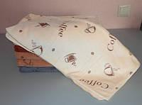 Полотенце  микрофибра для лица и рук  100х50 см кофе