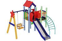 Детский игровой комплекс Ласточка, высота горки 1,5м