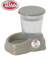 Автоматическая поилка для собак PetNova 1.5 л Серый