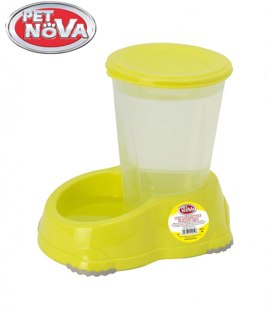 Автоматическая поилка для собак Pet Nova 3 л Желтая