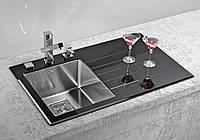 Кухонная мойка Alveus Crystalix 10L black I 86*54