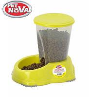 Автоматическая кормушка для собак PetNova Smart 1.5 л Желтый