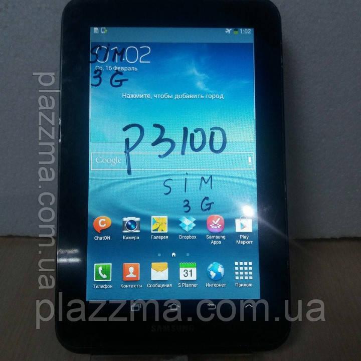 "Планшет Samsung 7"" 1SIM 1Gb RAM 8Gb RAM P3100 Гарантия Магазин, фото 1"