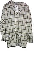 Пижама мужская, трикотаж с начёсом, на пуговицах, размеры М-4ХЛ, арт. на пуговицах,, фото 1