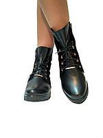 Женские кожаные ботинки Paola