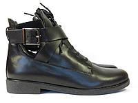 Черные женские ботинки 2018, фото 1