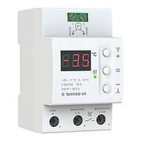 Терморегулятор terneo sn (для систем снеготаяния) гарантия 36 месяцев