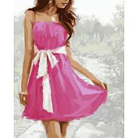 """VP779 Картина по номерам """"Летнее платье"""", 40*50 см, Babylon Turbo"""