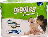 """Подгузники для детей """"GIGGLES"""" Premium Джуниор 11-25 кг №36"""
