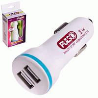 Pulso Автомобильное зарядное устройство в прикуриватель для телефона PULSO C-1023W 2USB