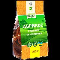 Абрикос сушеный без косточки, 100 г, NATURAL GREEN