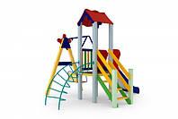 Детский игровой комплекс Бабочка, высота горки 0,9 м
