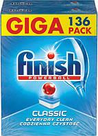 Таблетки для посудомоечных машин Finish Powerball classik 136 шт