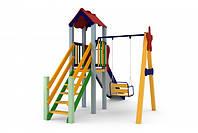 Детский игровой комплекс Кроха, высота горки 1,2 м