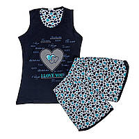 Пижама шорты женская FAWN арт:2603