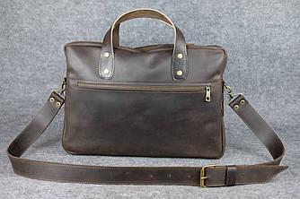 Cтрогий портфель  10195  Шоколад