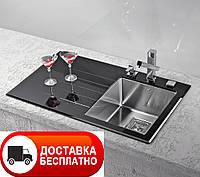Кухонная мойка Alveus Crystalix 10R black I 86*54