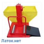 Ванна для проверки колес грузовых автомобилей Украина