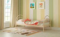 Кровать Алиса 80х190 см, металлическая односпальная кровать выбор цвета Мадера Доставка 250грн
