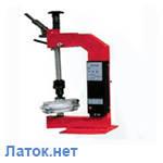 Вулканизатор с винтовым прижимом настольный ЭВК - 2 МП Украина