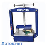 Вулканизатор с винтовым прижимом настольный Термопресс-1М Россвик Rossvik