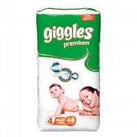 """Подгузники для детей """"GIGGLES"""" Premium Макси 7-18 кг №44"""