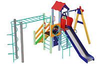 Детский игровой комплекс Луч, высота горки 1,5 м