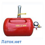 Инфлятор - бустер шиномонтажный для накачки шин 20л 8атм Украина