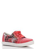 Кеды Леопард 34(р) Розовый Х402-11