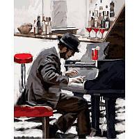 """VP794 Картина по номерам """"Пианист"""", 40*50 см, Babylon Turbo"""