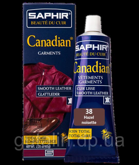 Крем-краска с защитными свойствами Saphir Canadian 75 мл цвет лесной орех (38)