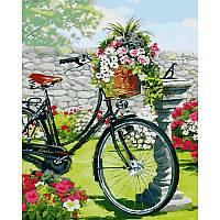 "VP795 Картина по номерам ""Винтажный велосипед"", 40*50 см, Babylon Turbo"