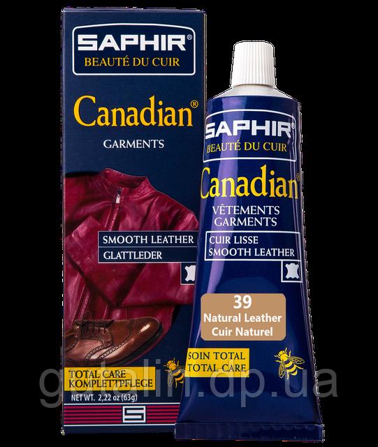 Крем-фарба з захисними властивостями Saphir Canadian 75 мл колір натуральна шкіра (39)