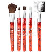 Набор кистей для макияжа Salon Professional, микс цветов