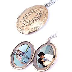 Медальоны для фотографий \ Кулон с фотографией внутри