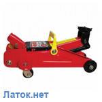 Домкрат гидравлический подкатной 2т GT0109 Intertool высота 135-385мм